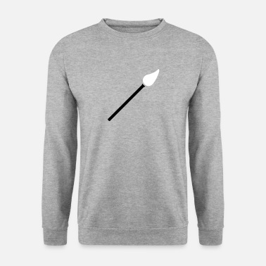 Paint Brush paint brush with paint - Unisex Sweatshirt