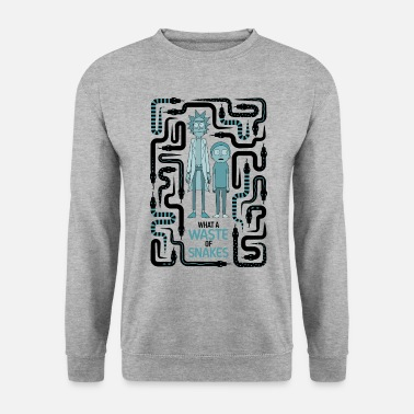 Rick And Morty Snake Labyrinth - Unisex pusero