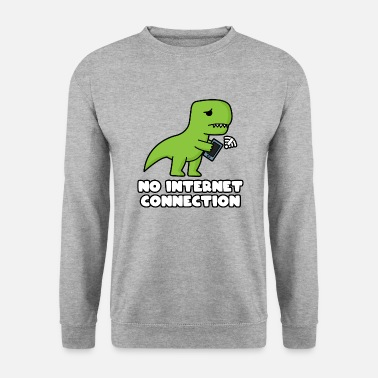 Internet NO INTERNET CONNECTION T-Rex - Unisex Pullover