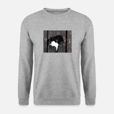 Flower sprouts from the terrace - Unisex Sweatshirt
