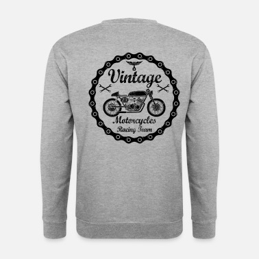 Moto vintage motorcycles 04 - Sweat-shirt Homme
