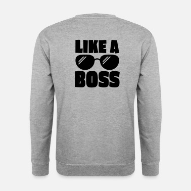 Ceo like a boss 1c - Felpa da uomo