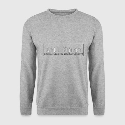 antihumain - Sweat-shirt Homme