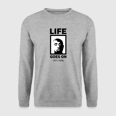 Life goes on - Men's Sweatshirt