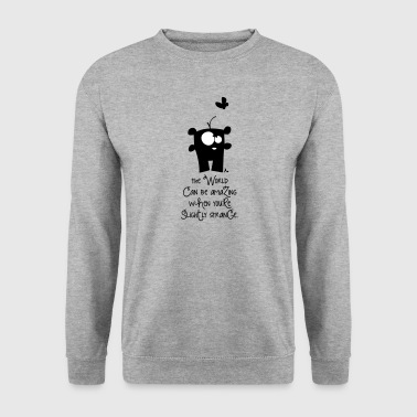 Incroyable monde *** - Sweat-shirt Homme