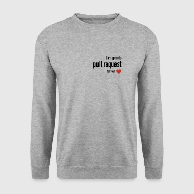 I just opened a pull request for your <3 - Men's Sweatshirt