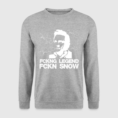 JOHNNY CASH SNEEUW - Mannen sweater