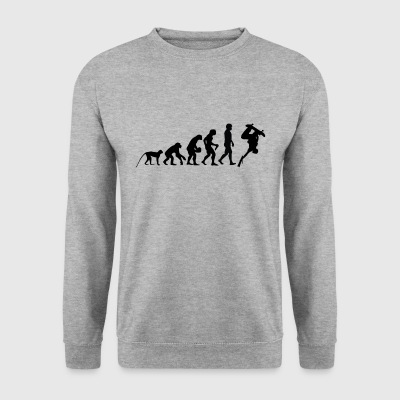 evolutie SKATER - Mannen sweater