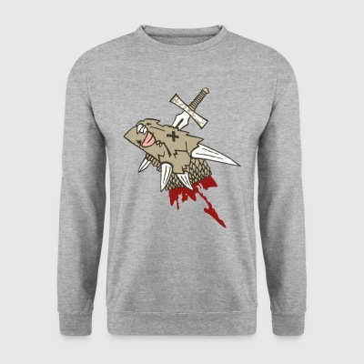 Head of Dragon Cut - Men's Sweatshirt
