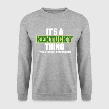 C'EST UNE CHOSE KENTUCKY - Sweat-shirt Homme