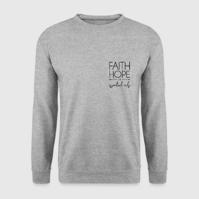 FaithHOPEeos - Men's Sweatshirt