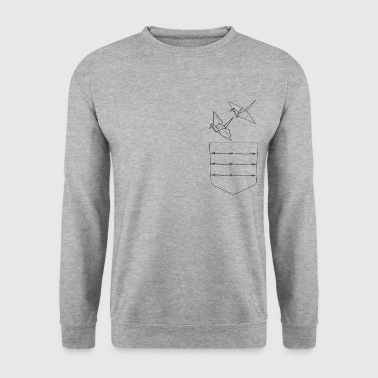 Origami - Art - Sweat-shirt Homme