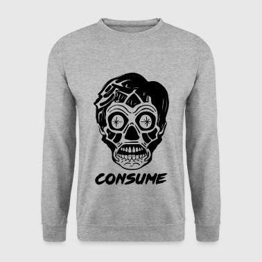 They Live - Skull Alien - Consommez shirt - Sweat-shirt Homme
