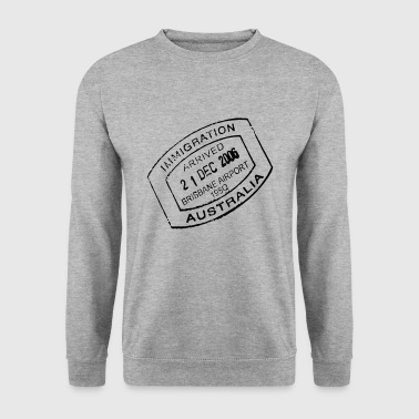 Travel stamp - Men's Sweatshirt