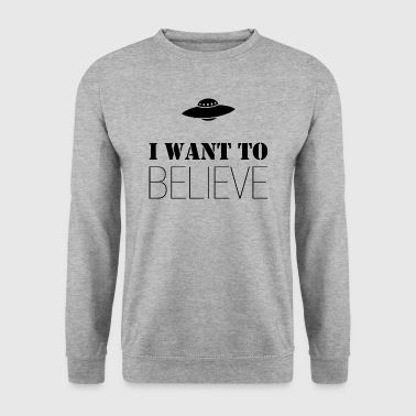I Want To Believe - Sudadera hombre