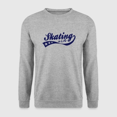 skating is life - retro - Männer Pullover