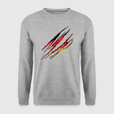 Germany Slit open 001 - Men's Sweatshirt
