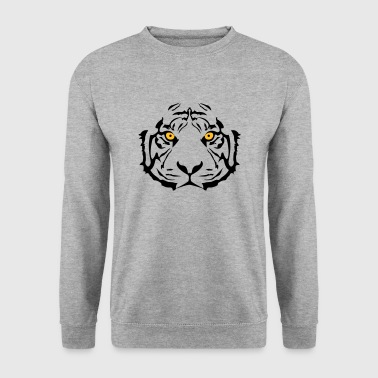 Yellow-eyed Tiger - Men's Sweatshirt