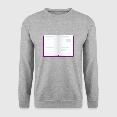 books reader reading books reading12 - Men's Sweatshirt