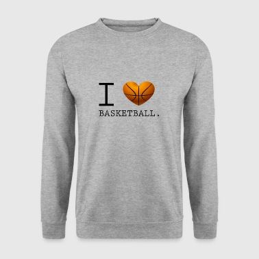 J'adore prix de basket-ball - Sweat-shirt Homme