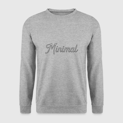 minimal - Men's Sweatshirt