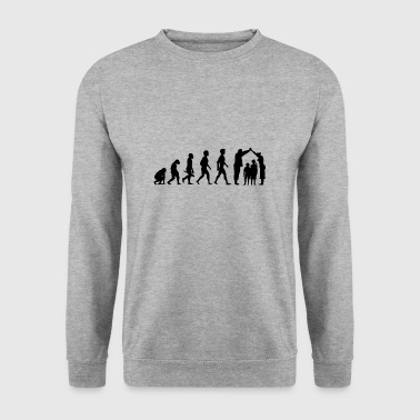 baiser couple engagement de la relation d'amour hochzeit5 - Sweat-shirt Homme