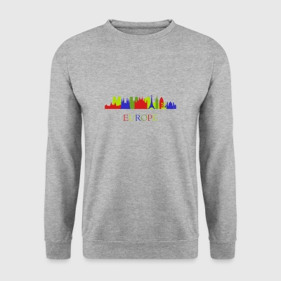 skyline europe - Men's Sweatshirt