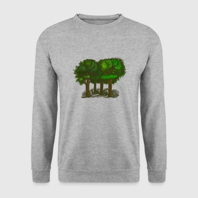 forêt - Sweat-shirt Homme