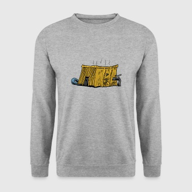 Manure container yellow - Men's Sweatshirt
