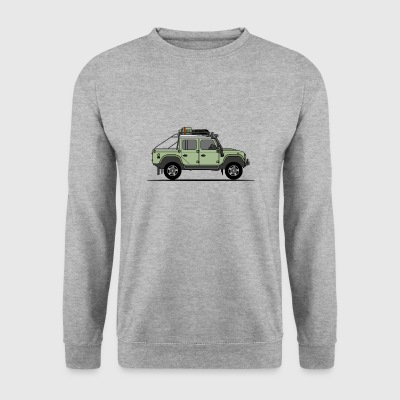 Defender 110 Offroad Pick Up - Men's Sweatshirt