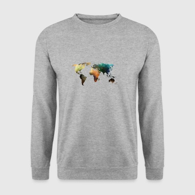 carte du monde - Sweat-shirt Homme