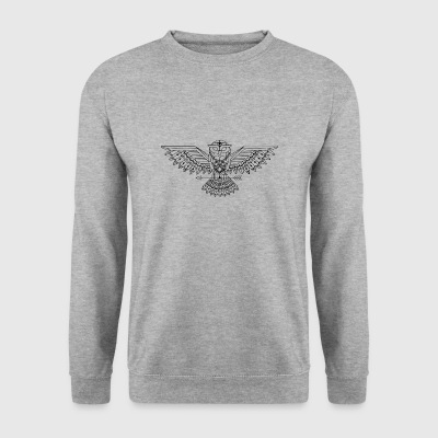 hibou graphique - Sweat-shirt Homme