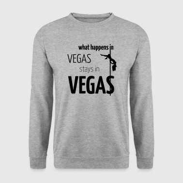 What Happens in Vegas ... - Felpa da uomo