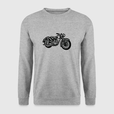 Motorcycle / Classic Motorcycle 04_black - Men's Sweatshirt