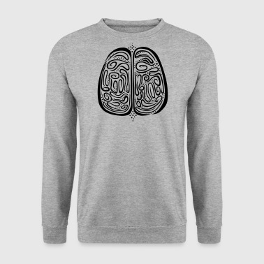 Brain - Men's Sweatshirt