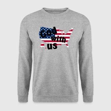 God with us - Sweat-shirt Homme
