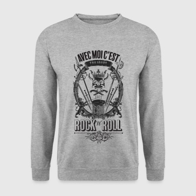 rock'n'roll - Mannen sweater