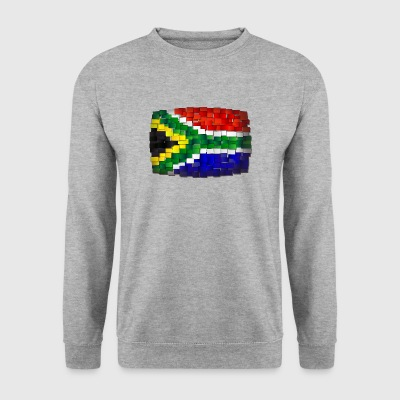 flag South Africa - Men's Sweatshirt