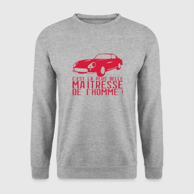 voiture maitresse homme 1 - Sweat-shirt Homme