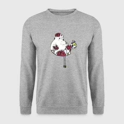 Woodstock oiseau coloré - Sweat-shirt Homme