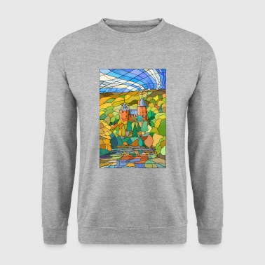 Castell Coch Reflections - Men's Sweatshirt