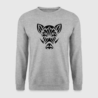sanglier tribal tete tattoo 19093 - Sweat-shirt Homme