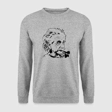 einstein albert, les scientifiques - Sweat-shirt Homme