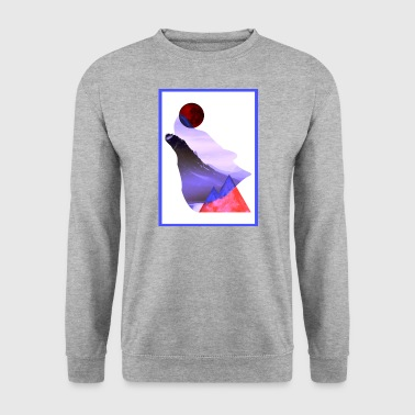 Moon Wolf - Laurids B Design - Men's Sweatshirt