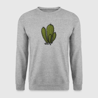 Cute cartoon cactus - Men's Sweatshirt