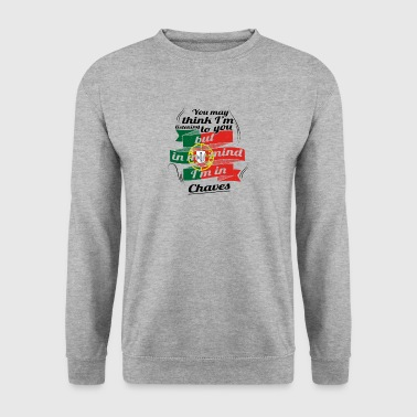 HOLIDAYS HOME ROOTS TRAVEL IN Portugal Chaves - Men's Sweatshirt