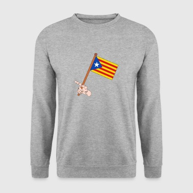 Catalonia flag - Men's Sweatshirt