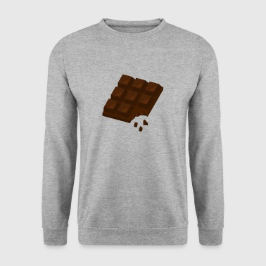 Chocolat Chocolat Chocolat Doux Brown Cadeau - Sweat-shirt Homme