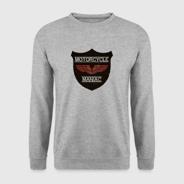 Motorcycle Maniac - Red Wing - Männer Pullover