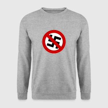 contre les nazis - Sweat-shirt Homme